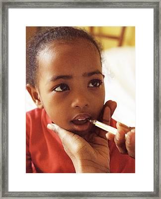 Feverish Child Framed Print by Ian Boddy