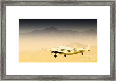 Flight To Macao Framed Print by Gus McCrea