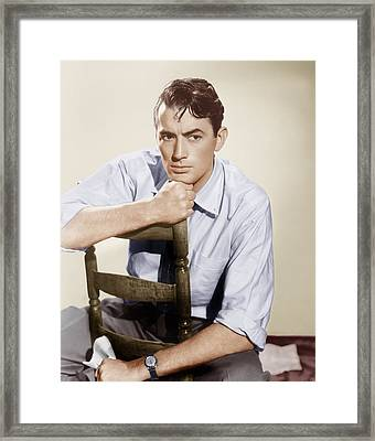 Gentlemans Agreement, Gregory Peck Framed Print by Everett