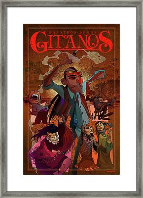 Gitanos  Framed Print by Nelson Dedos Garcia
