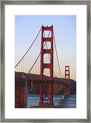 Golden Gate Bridge San Francisco Framed Print by Stuart Westmorland