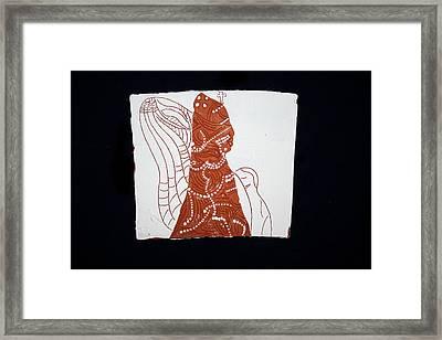 Guardian Angel Framed Print by Gloria Ssali