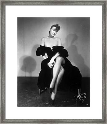 Gypsy Rose Lee (1913-1970) Framed Print by Granger