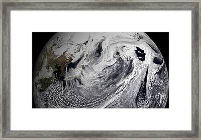 January 2, 2009 - Cloud Simulation Framed Print by Stocktrek Images