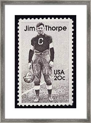 Jim Thorpe (1888-1953) Framed Print by Granger