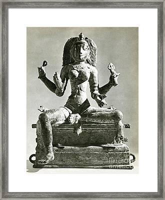 Kali Framed Print by Photo Researchers