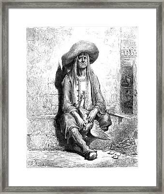 La Fontaine: Fables Framed Print by Granger
