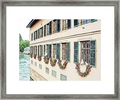 La Petite France Strasbourg France Framed Print by Joseph Hendrix