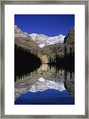 Lake Ohara, Yoho National Park, British Framed Print by John Sylvester
