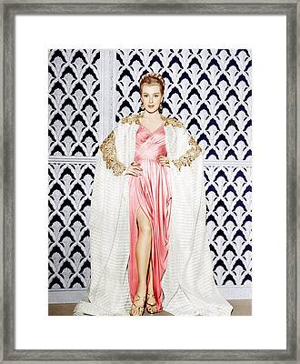 Lana Turner, Ca. 1940s Framed Print by Everett