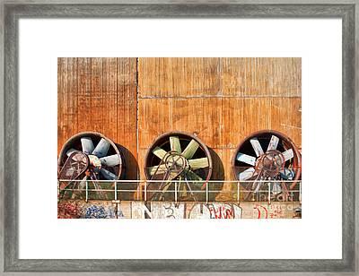 Landschaftspark Duisburg Framed Print by Joerg Lingnau