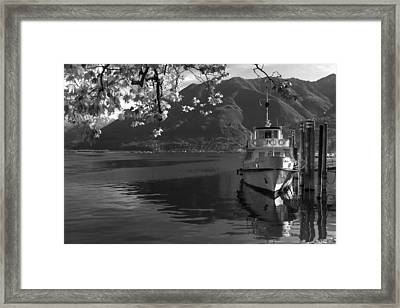 Locarno Framed Print by Joana Kruse