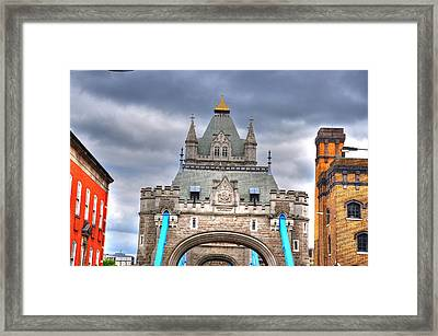 London Framed Print by Barry R Jones Jr