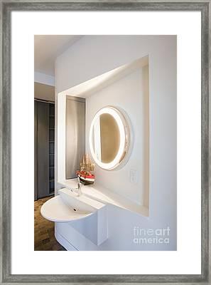 Luxury Bathroom Framed Print by Andersen Ross