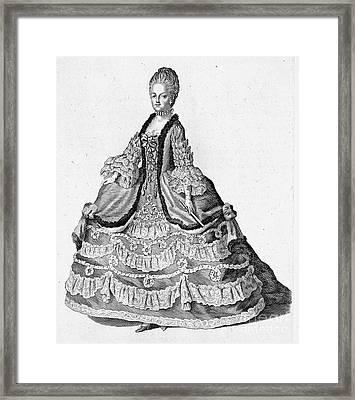 Marie Antoinette (1755-1793) Framed Print by Granger