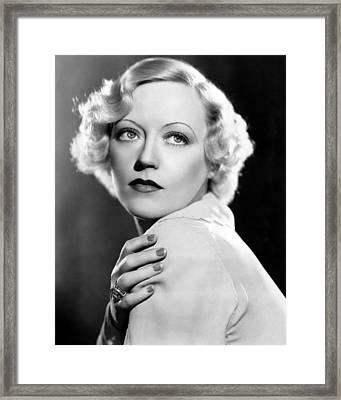 Marion Davies, 1935 Framed Print by Everett