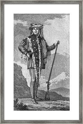 Meriwether Lewis Framed Print by Granger