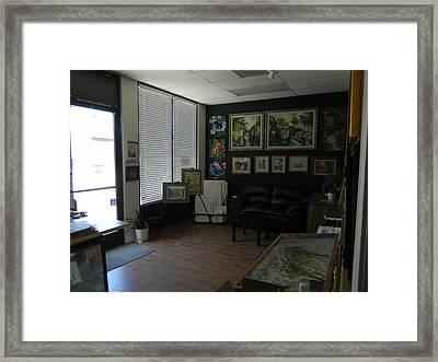 Min W Fine Art Gallery Framed Print by Min Wang