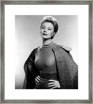 Mitzi Gaynor, Ca. 1950s Framed Print by Everett
