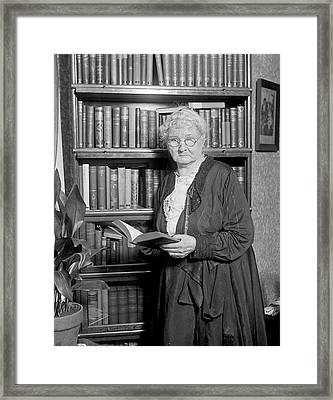 Mother Jones. Mary Harris Jones, Photo Framed Print by Everett