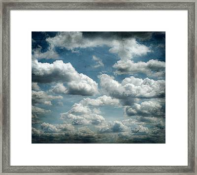 My Sky Your Sky  Framed Print by JC Photography and Art