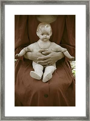 Old Doll Framed Print by Joana Kruse