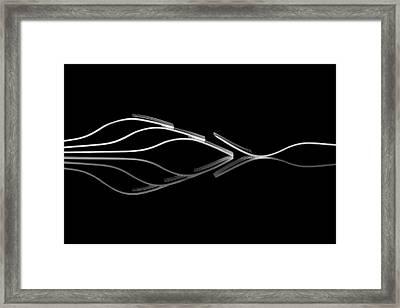 Outsider Framed Print by Gert Lavsen