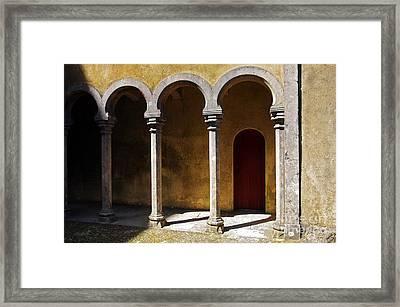 Palace Arch Framed Print by Carlos Caetano