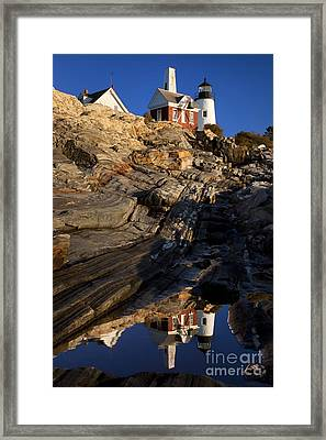 Pemaquid Point Lighthouse Framed Print by Brian Jannsen