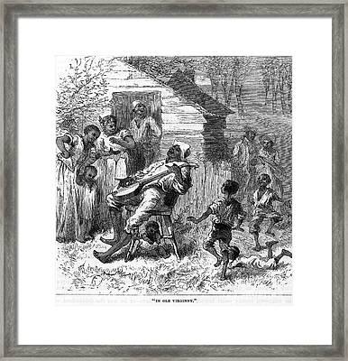 Plantation Life Framed Print by Granger