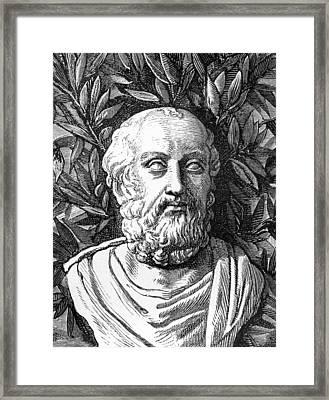 Plato, Ancient Greek Philosopher Framed Print by