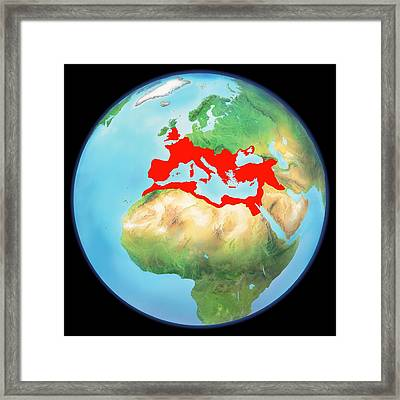 Roman Empire, Artwork Framed Print by Gary Hincks