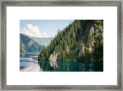 Sary-chelek Framed Print by Konstantin Dikovsky