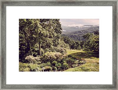 Scenic Of Barkhamsted Reservoir Framed Print by HD Connelly