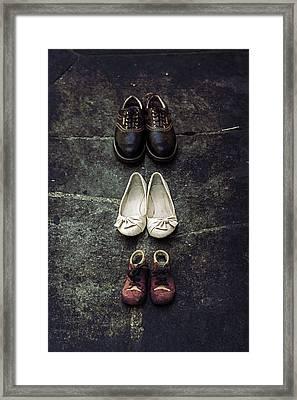 Shoes Framed Print by Joana Kruse