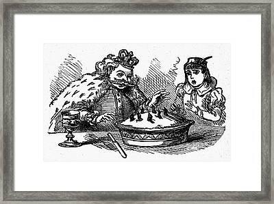 Sing A Song Of Sixpence Framed Print by Granger