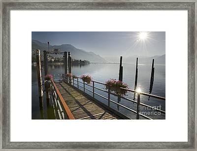 Small Port Framed Print by Mats Silvan