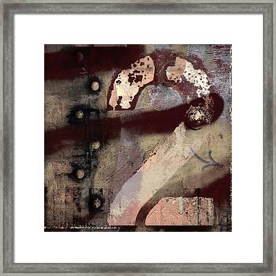 2 Squared Framed Print by Carol Leigh