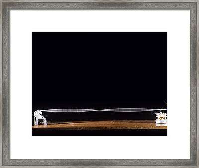 Standing Wave Framed Print by Andrew Lambert Photography