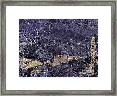 Storm Framed Print by Peter Szabo