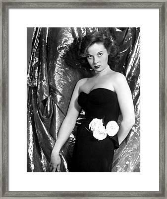 Susan Hayward, 1940s Framed Print by Everett