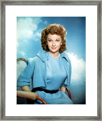Susan Hayward, 1950s Framed Print by Everett