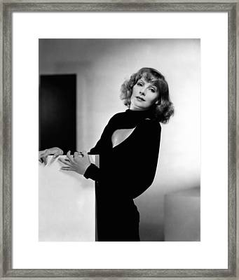 Susan Lenox Her Fall And Rise, Greta Framed Print by Everett