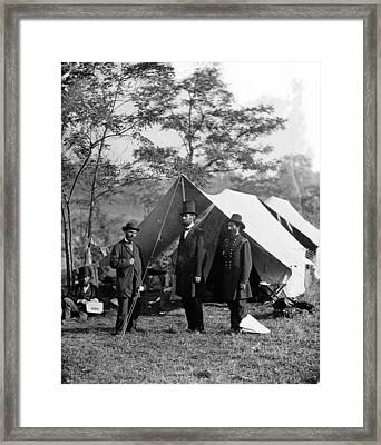 The Civil War, Antietam, Md. Allan Framed Print by Everett