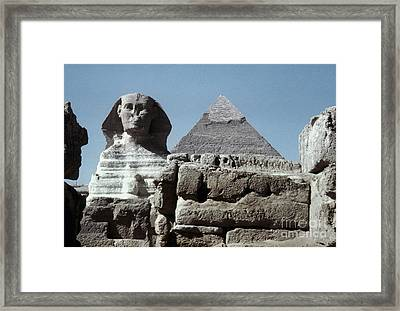 The Great Sphinx Framed Print by Granger
