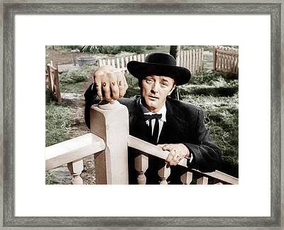 The Night Of The Hunter, Robert Framed Print by Everett