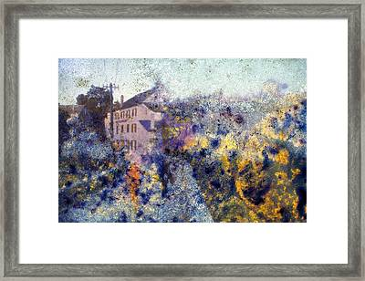 The Space Between Framed Print by Keenpress