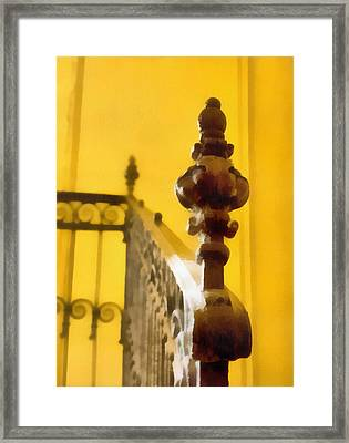 The Staircase Framed Print by Odon Czintos