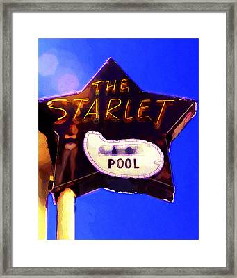 The Starlet Framed Print by Ron Regalado