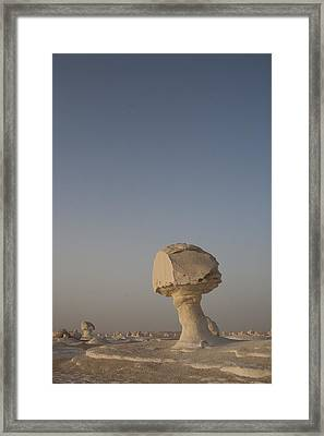 The Strange Eroded Formations Framed Print by Taylor S. Kennedy
